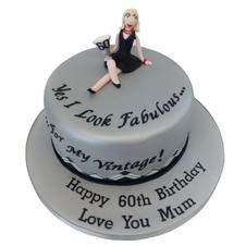 60th Birthday Cake from £90