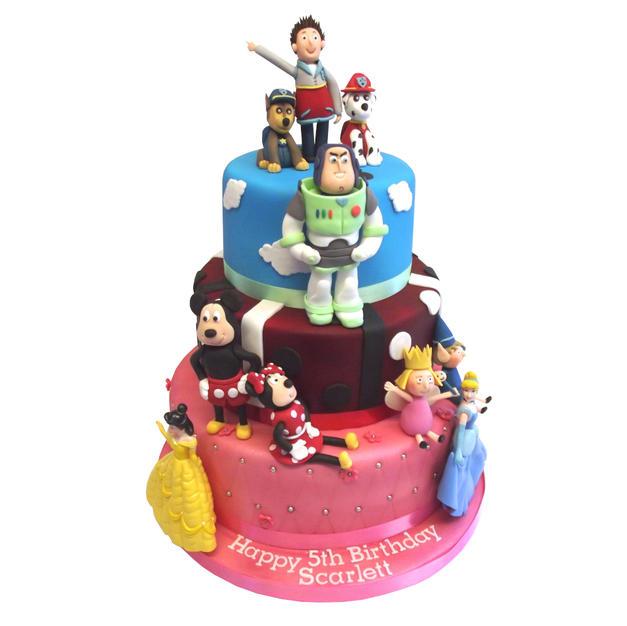 Childrens Birthday Cake from £375