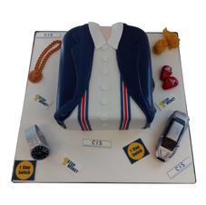 Jacket & Braces Cake from £175