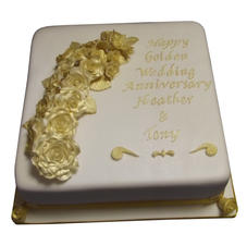 50th Anniversary Cake from £150
