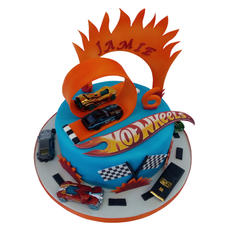Hot Wheels Cake from £80