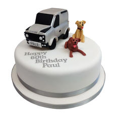 Landrover Cake from £135