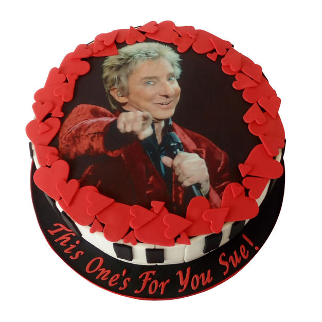 Barry Manilow Cake from £100