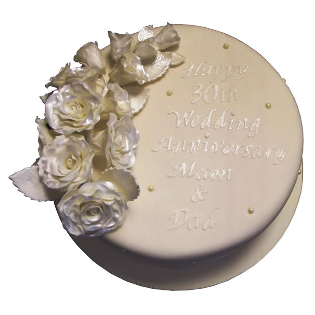 Pearl Anniversary Cake from £110
