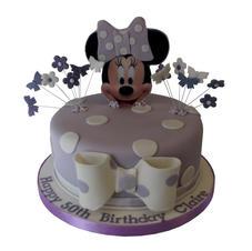Minnie Theme Cake from £80