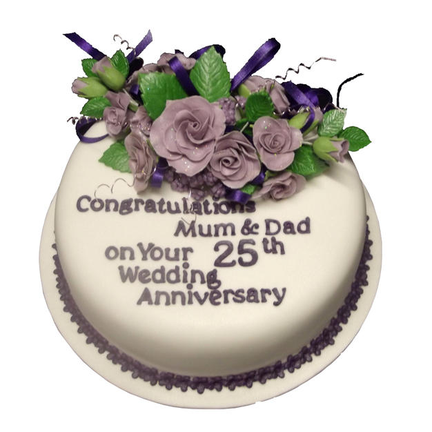 25th Anniversary Cake from £95