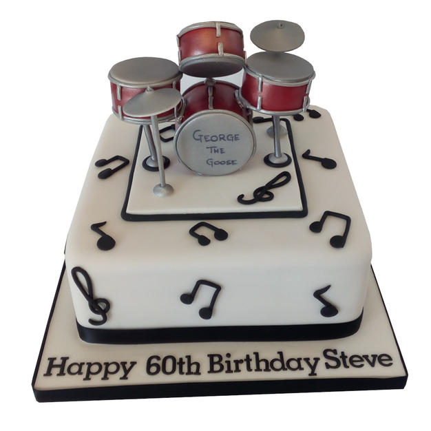Drum Kit Cake from £110