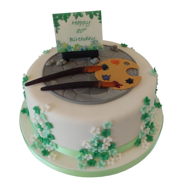 80th Birthday Cake from £80