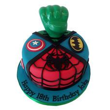 Superhero Cake from £90