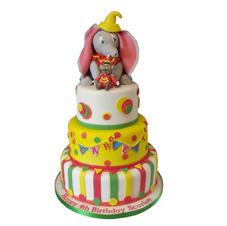 Dumbo Circus Cake from £300