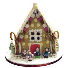 Snowball Gingerbread House