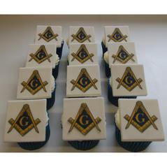 Masonic Cupcakes