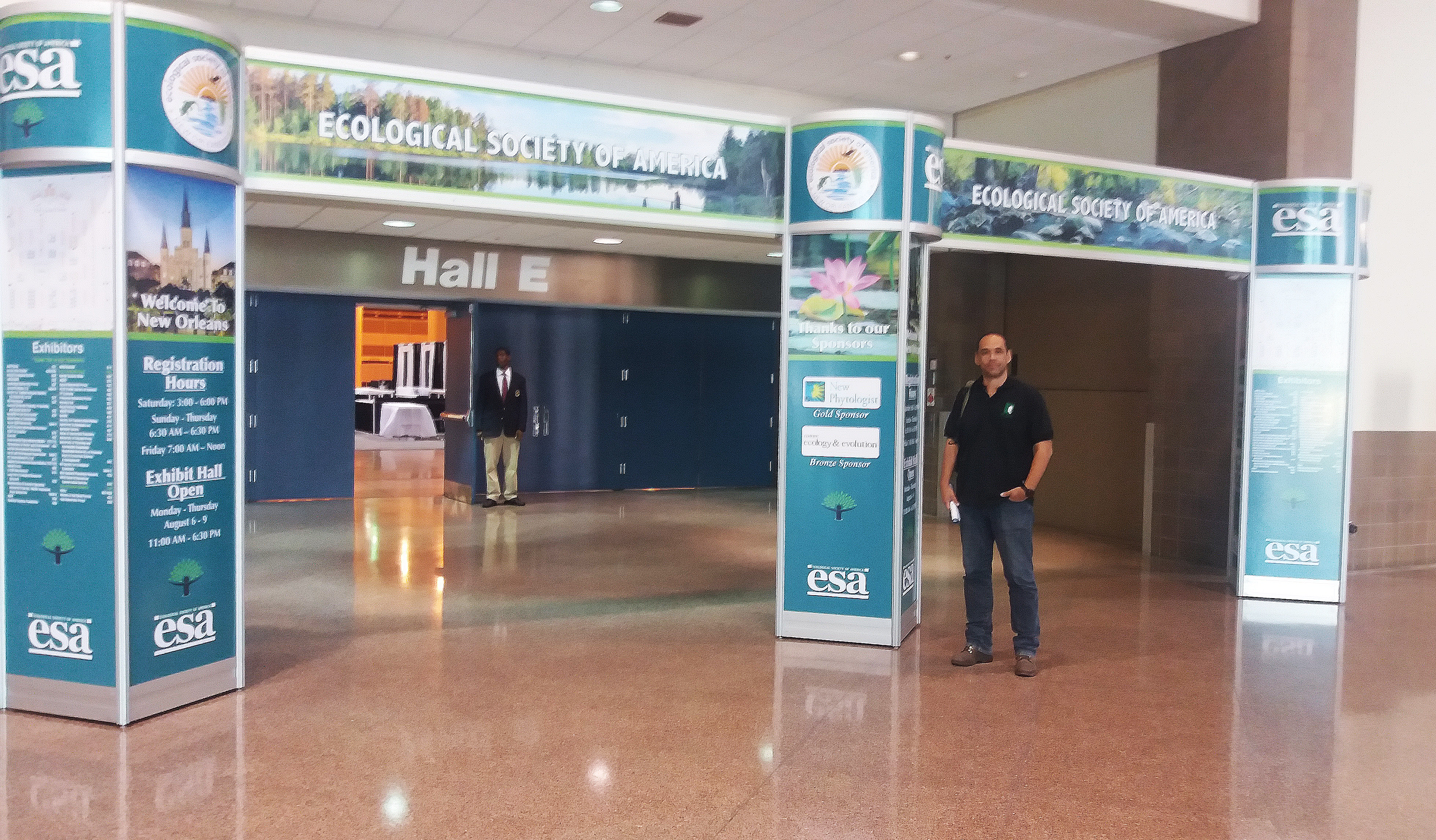 2018 ESA Anual meeting, New Orleans, USA