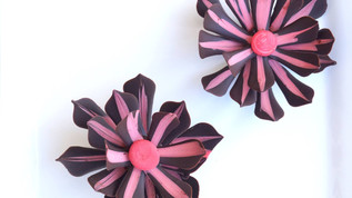Two tone Chocolate Flower
