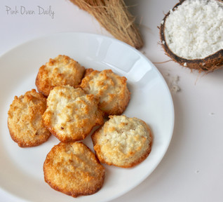 Coconut Macaroons (without condensed milk)