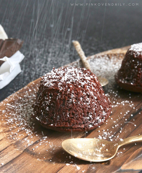 Cheats' Chocolate Lava Cake
