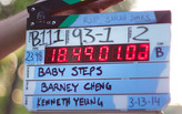 "Filming of ""Baby Steps"""