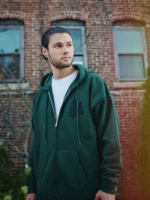 VANLife Zip Up - Forest Green
