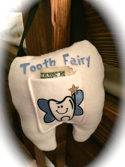 Tooth Fairy Pillow (Blue)