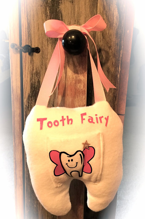 Tooth Fairy Pillow (Pink)