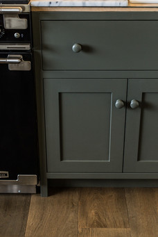 Cottage Kitchen - inset cabinetry - Cott