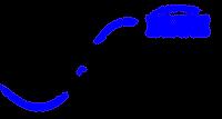 Blue Elephant (Transparent Bkgrnd).png