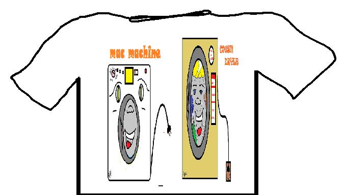 Mac Machine and Cousin Dryer