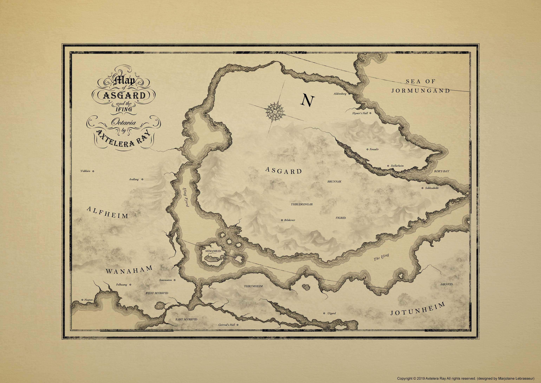 Octavia Vintage Map