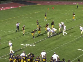 Spencerport Downs Churchville-Chili on the High School Football Game of the Week