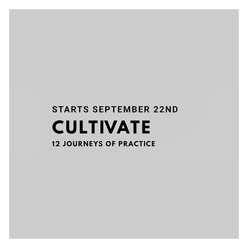 CULTIVATE  Early Bird