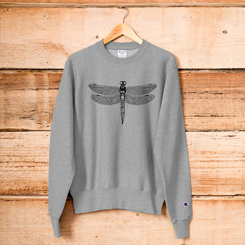 Dragonfly +Champion Sweatshirt