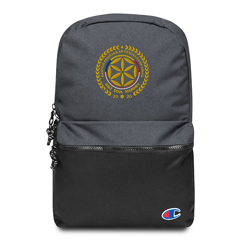 KPPA PATCHED COLLAB BLAZON + CHAMPION BACKPACK
