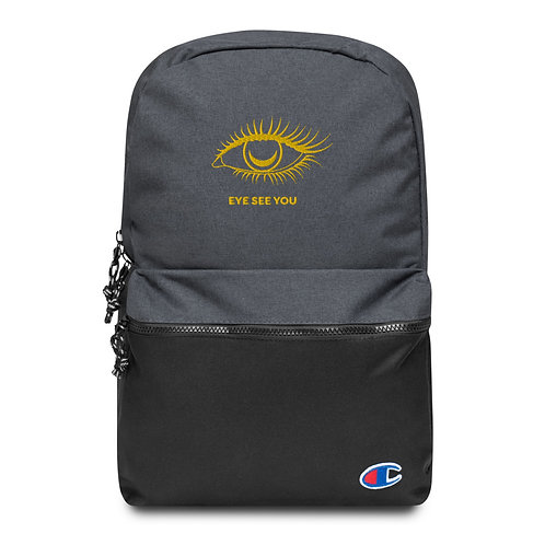 EYE SEE YOU Champion Water Resistant Backpack