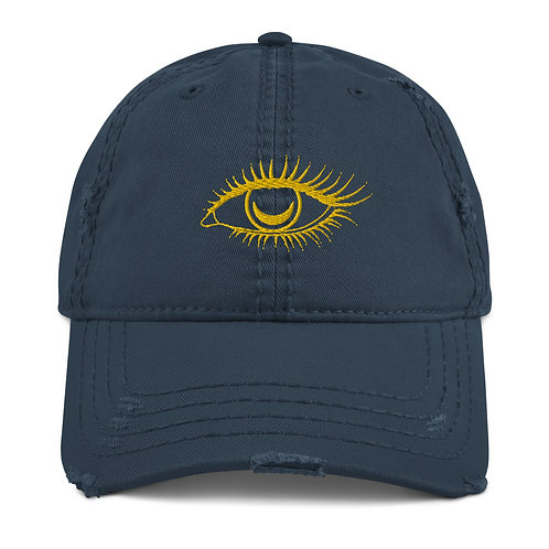 Distressed Eye See You Cap