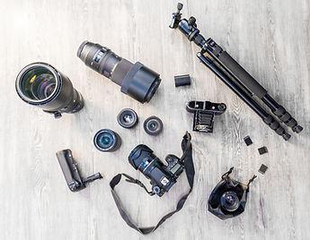 Professional Camera Equipment