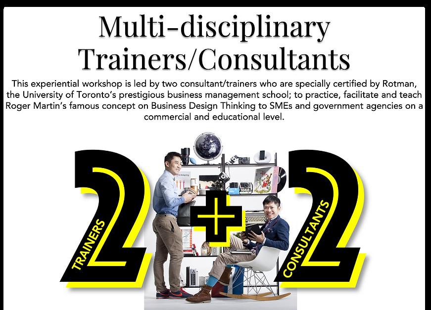 Desktop 4.   Multi-disciplinary Trainers