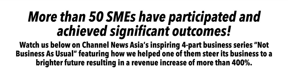 More than 50 SMEs have participated and