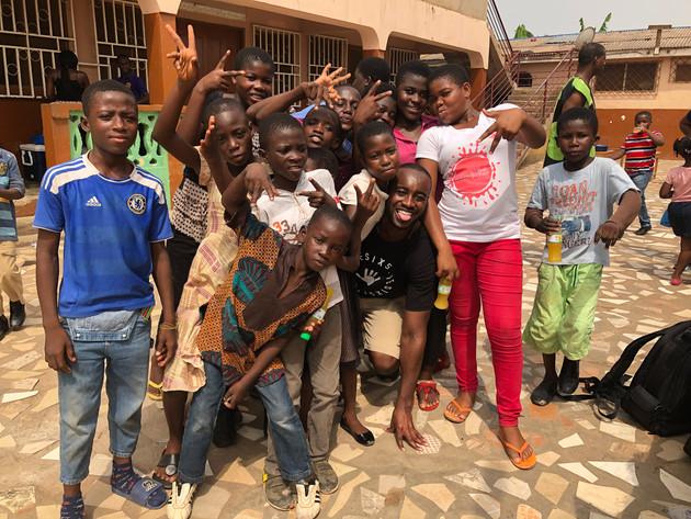 Global Waves Gives Back: Ghana