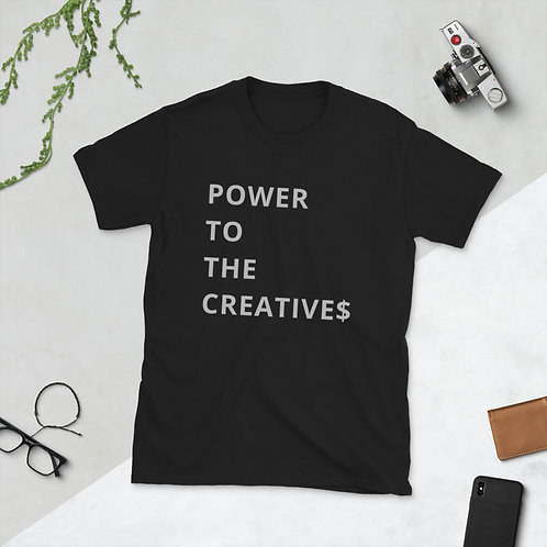 Power to the Creatives - Black