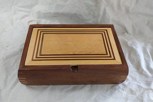Maple & Walnut Jewelry Box