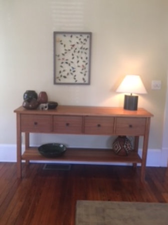Cherry Hall Table