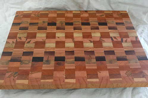 Extra Large End Grain Cutting Board