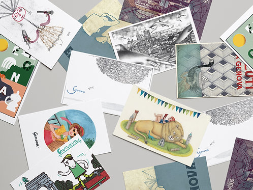 Cartoline postali illustrate | Tante belle cose!