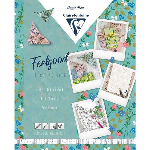 FEELGOOD quaderno creativo fiori di campo