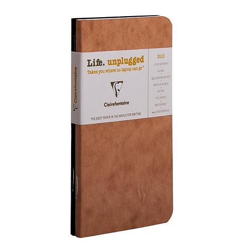 Coppia di quadernini a righe