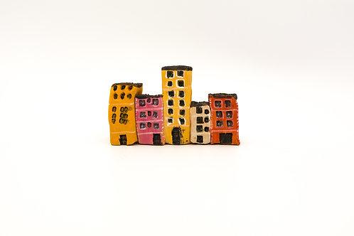 Casette di terracotta dipinta