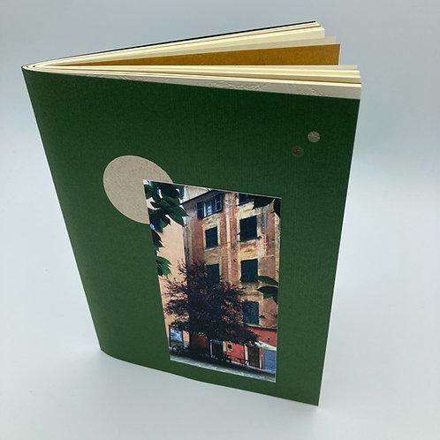 Dreaming Genova - taccuini collage di carta formato quaderno