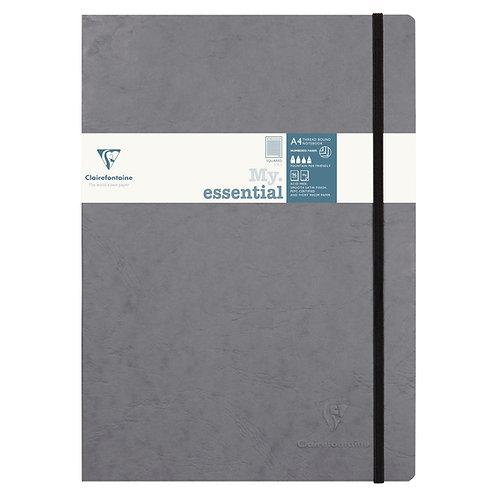 Quaderno a quadretti A4 a pagine numerate
