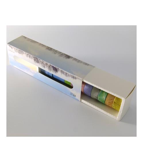 Washi Masking Tape Set - Natural Time