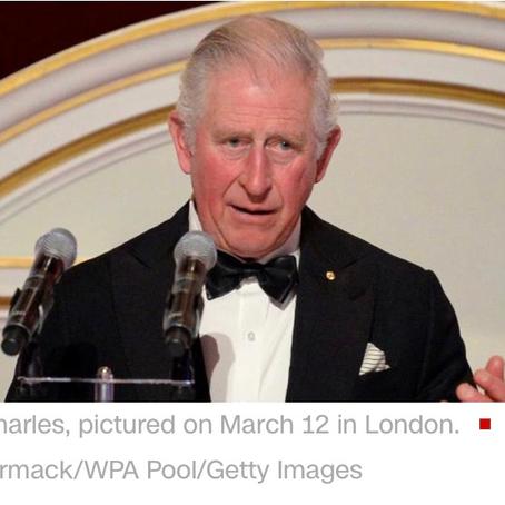 突发新闻:查尔斯王子新冠肺炎呈阳性!Breaking:Prince Charles tests positive for coronavirus